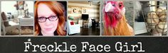 Freckle Face Girl