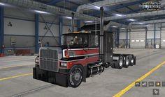Truck Games, Lego Truck, Truck Mods, American Truck Simulator, Ford Trucks, Interior, Indoor, Ford, Interiors