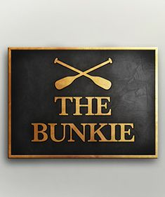 """Cool sign for the cottage-away-from-the-cottage, AKA the """"Bunkie"""". Cottage Names, Cottage Signs, Cute Cottage, Cottage Ideas, Cabin Signs, Lake Signs, Metal House Signs, Guest Cabin, Eagle Creek"""