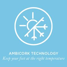 Ambicork Technology - Keep your feet at the right temperature