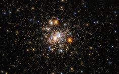 Hubble Captures a Sparkling Cluster | NASA Globular Cluster, Galactic Center, Sagittarius Constellation, Hubble Images, Fireworks Show, Star Cluster, Hubble Space Telescope, Light Year, Milky Way