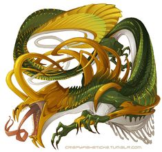 My characters are being uncooperative so have a Loki-dragon. Thus, dragon. Dragon Sword, Dragon Art, Creature Feature, Creature Design, Fantasy Creatures, Mythical Creatures, Mythical Dragons, Cool Dragons, Scary Art