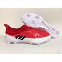 11f0bb407 Adidas Messi - Discount Adidas Messi 16 Pureagility FG AG Red White Football  Shoes