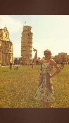 Sophie Ellis-Bextor in #Pisa!