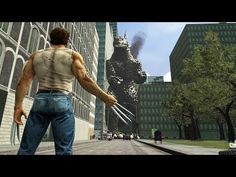 [SFM] Godzilla vs Wolverine   Battle in the Movies - YouTube