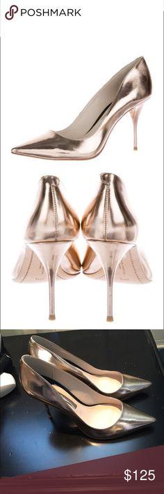 Sophia Webster Rose Gold Metallic Heels New New without box Sophia Webster rose gold metallic pumps. Size 38. Beautiful. Sophia Webster Shoes Heels