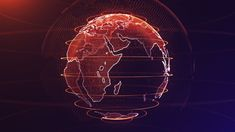 After Effects Tutorial: 3D Earth Particles - Complete After Effects Tuto...