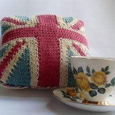 Union Jack Crochet Cushion (full sized)