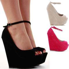Party Wedge Heels