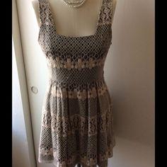 Dress Floral lace. No known damages. American Rag Dresses Midi