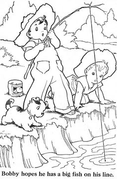 Coloring Book~Blue Ribbon - Bonnie Jones - Picasa Web Albums by TomiSchlusz Colouring Pics, Animal Coloring Pages, Coloring Pages To Print, Coloring Book Pages, Free Coloring, Coloring Pages For Kids, Kids Coloring, Coloring Sheets, Vintage Coloring Books