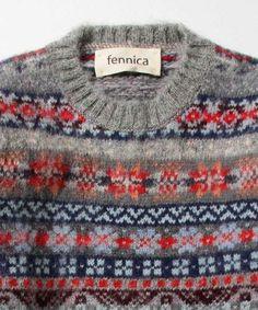 fennicaのJamieson's Knitwear × fennica / <Men's>fairisle crew 2015Awです。こちらの商品はBEAMS Online Shopにて通販購入可能です。