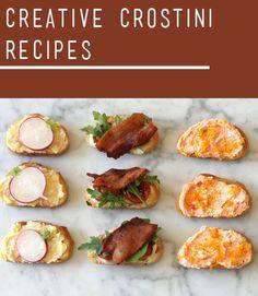 Four Great Crostini Recipes