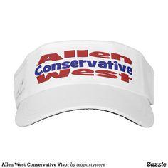 Allen West Conservative Visor