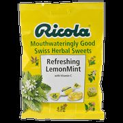 Ricola Lemon Mint Swiss Herbal Sweets