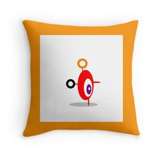 RED and orange ABSTRACT FIGURE