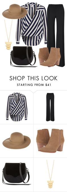"""""""Coachella"""" by bj837101 ❤ liked on Polyvore featuring Roland Mouret, Armani Jeans, Franco Sarto, Rebecca Minkoff and Gorjana"""