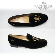 Bachelor Shoes velvet slippers