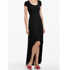 Image result for High low black dress