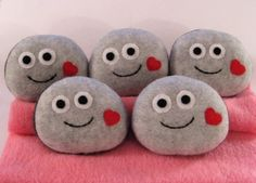 Pet Rock Valentine by magicyam on Etsy