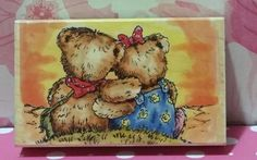 WHEN IM WITH YOU 352K Michael Woodward Penny Black Rubber Stamp #1575 in Crafts, Stamping & Embossing, Stamps   eBay