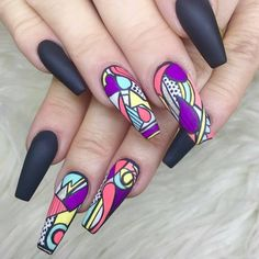 """6,326 Likes, 30 Comments - Clawgasmic (@clawgasmic) on Instagram: """"@creativeandcustomclaws we adore this look your work is so precise and the use of black and block…"""""""