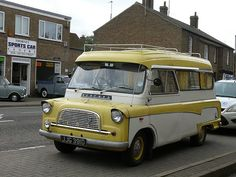 Vintage Car - Bedford Campervan [JJG 391D] 110903 Thorney