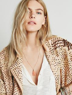 Free People Anu Tassel Necklace, $24.00