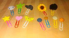 Decoration clip papel