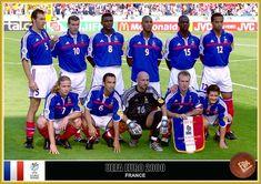 Uefa European Championship, European Championships, Fabien Barthez, France National Team, France Team, Blue Is The Warmest Colour, Fan Picture, Garra, Vintage Football