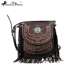 Montana West Fringe Collection Messenger Bag (MW197-8287) – Handbag-Addict.com