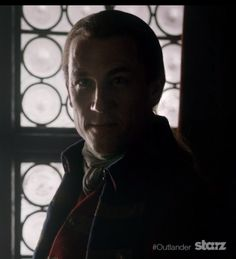 Blackjack, the man we love to hate . Smooth as silk but dangerous as a rattlesnake. He was practically drooling over what he was doing to Jamie and Claire. He gets off on violence.  Well acted and scary as hell because there are entities like that in the world.  (Photo from My OUTLANDER Purgatory)