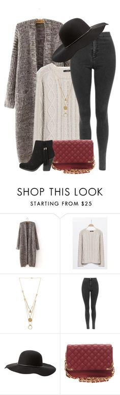 """""""Fall Outfit"""" by genuine-people ❤ liked on Polyvore featuring Maison Margiela, Charlotte Russe and Fall"""