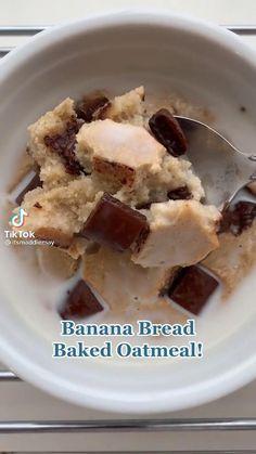 Healthy Dessert Recipes, Sweets Recipes, Healthy Baking, Healthy Desserts, Snack Recipes, Healthy Food, Fun Baking Recipes, Cooking Recipes, Comida Diy