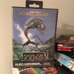 On instagram by da_moroccan_collector  #segamegadrive #microhobbit (o)  http://ift.tt/1Oxz5Bs  Ecco the dolphin #segagenesis  #sega #ecco #retrogaming #game #gamehunter #gameday