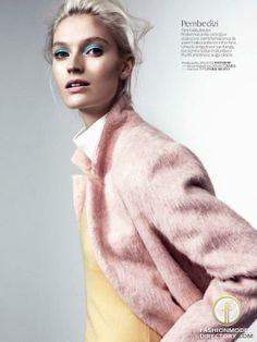 """Helena Greyhorse featured in the Vogue Turkey editorial """"Pastel Oyunlari"""" from January 2014 , showing Topshop , Zara #lovefmd"""