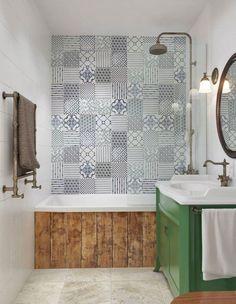 Carrelage mural salle de bain, panneaux 3D et mosaïques!   Murals