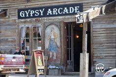 Outside the Gypsy Arcade