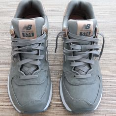 New Balance Metallic 574 Sneakers | Modish and Main
