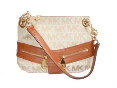 #michaelkors Michael Kors Jamesport Small Shoulder Bag (Beige/Cami/Luggage) Michael Kors http://www.amazon.com/dp/B00IIWOYIQ/ref=cm_sw_r_pi_dp_8pQ8tb1S1CKKN