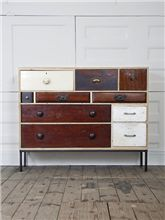 This dresser would make a great organizer and with a little refinishing could look really great too.