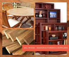 Sal Wood durability and beauty make it the most demanded timber species for commercial production and also used for architecture & interiors. Architecture Interiors, Bookcase, Commercial, Shelves, Wood, Beauty, Home Decor, Shelving, Decoration Home
