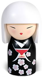 """Kimmidoll™ Chika - 'Wisdom' - """"My spirit is calm and contemplative. The power of my spirit lies in calm contemplation. By nurturing calmness, wisdom reveals itself. Embrace my spirit – let the stillness of your mind find the answers you seek."""""""
