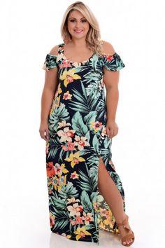 Vestido Plus Size Morena Tropicana