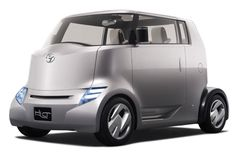 Toyota Concept Hybrid Car Most Likely To Look Like A Cartoon Character.