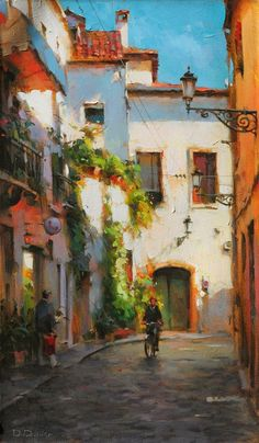 Midday in the Old City - Dimitri Danish