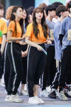 Cheng Xiao, Asian Celebrities, Cosmic Girls, Bomber Jacket, Kpop, Characters, Fashion, Moda, La Mode