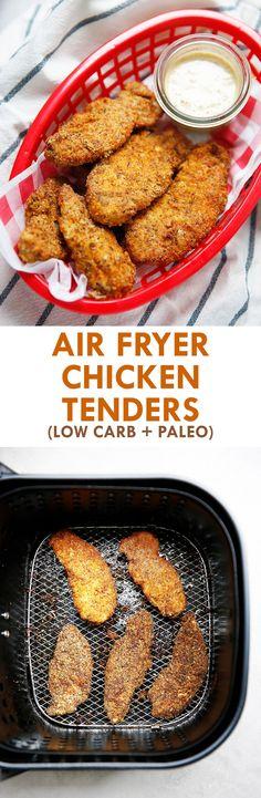 Air Fryer Chicken Tenders (VIDEO!) - Lexi's Clean Kitchen