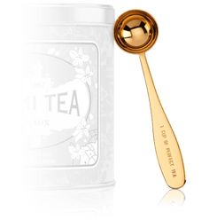 It's always nice to have a tea scoop, and I highly recommend this one. It brews a great cup, though I've been known to put two scoops into my tea ball to infuse multiple morning brews.
