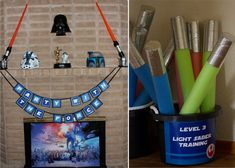 Great Star Wars party details from someone who is admittedly not Star Wars savvy (like me!)